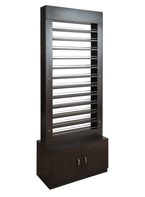 Valentino Beauty Pure Polish Rack - Salon and Spa furniture.
