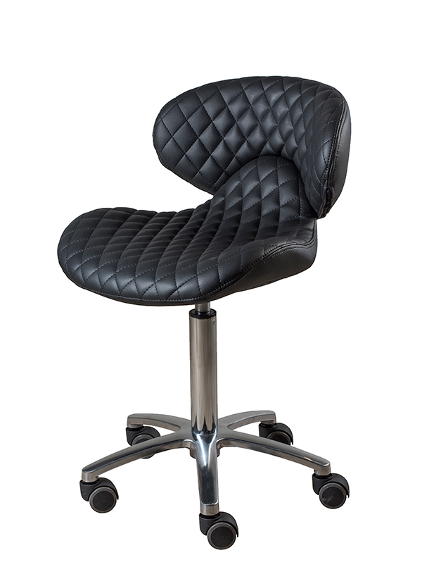 Valentino Beauty Pure Pedicure Stool. Salon and Spa furniture.
